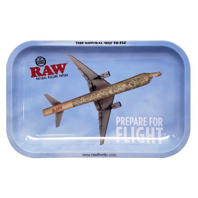 RAW - Prepare for Flight - Small Metal Rolling Tray