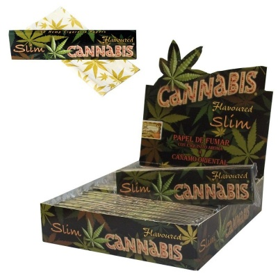 Juicy Jay's Cannabis Flavoured King Size Slim Rolling Papers