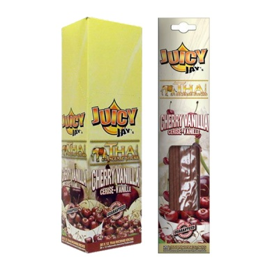 Juicy Jays Cherry Vanilla Thai Incense Sticks 12 x 20 Full Box