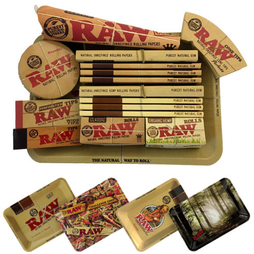 Raw Mini Rolling Tray Classic Amp Organic Gift Set Plus