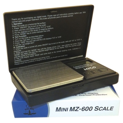 Myco Mini MZ-600 Digital Scales 0.1 x 600g