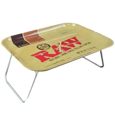 RAW XXL Lap Rolling Tray with Legs