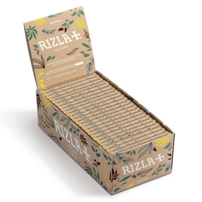 50 Rizla Natura Regular Organic Rolling Papers Full Box