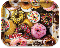 RAW - Donut - Large Metal Rolling Tray