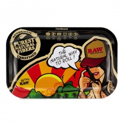 RAW - BRAZIL - Small Metal Rolling Tray