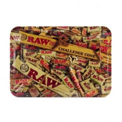 RAW Mix Mini Metal Rolling Tray