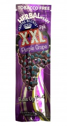 2-pack PURPLE GRAPE XXL Hemp Wraps - Tobacco Free (Rolls up to 4!)