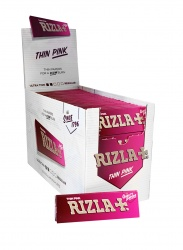 100 Rizla Pink Regular Rolling Papers Full Box
