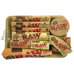 RAW Mini Rolling Tray Gift Set - Choice of tray!