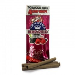 4-pack BERRIES Hemp Wraps - Tobacco Free