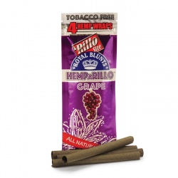 4-pack GRAPE Hemp Wraps - Tobacco Free