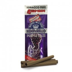 4-pack PURPLE HAZE Hemp Wraps - Tobacco Free