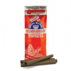 4-pack SWEETS Hemp Wraps - Tobacco Free