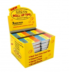 Rolling King Rolling Tips - Pack of 3