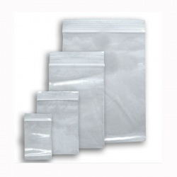 Plain Baggies Grip Seal Bags Various Sizes
