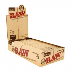 20 RAW Classic Supernatural 12 Inch Rolling Papers Full Box
