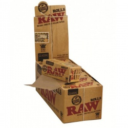 12 RAW Classic King Size 3m Rolls Full Box