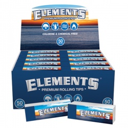 50 Elements Regular Standard Rolling Tips Full Box