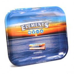 Elements Large Metal Rolling Tray