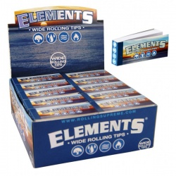 50 Elements Wide Rolling Tips Full Box