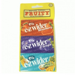 30 EZ-Wider Assorted 1½ Size Rolling Papers 10 x 3 packs