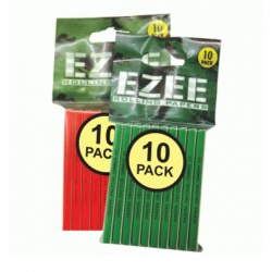 EZEE Green Standard Rolling Papers Packs of 10
