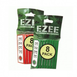 EZEE Green Standard Rolling Papers Packs of 8