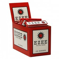 EZEE Red Standard Rolling Papers Box of 100