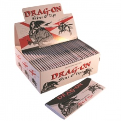 Highland Drag-On Extra Long Rolling Papers & TipsBox of 30