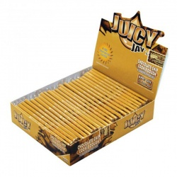 24 Juicy Jays Choc Chip Cookie Dough King Size Slim Flavoured Rolling Papers Full Box