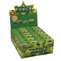 24 Juicy Jays Green Apple Big Size Rolls Full Box