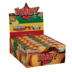 24 Juicy Jays Jamaican Rum Big Size Rolls Full Box