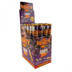 24 Juicy Jays Jones Grape Flavoured Pre Rolled Cones Full Box