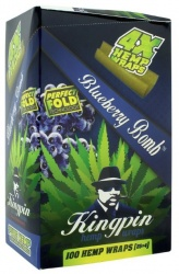 Kingpin Blueberry / Blue Hemp Blunts