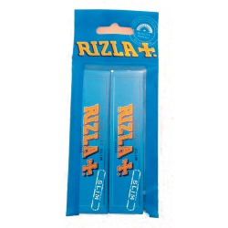 2 Rizla Blue King Size Slim Rolling Papers Hanger Pack