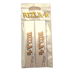 20 Rizla Silver King Size Slim Rolling Papers Hanger Pack 10 x 2 pack