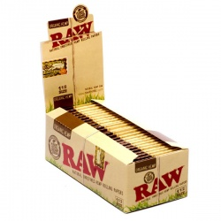 25 RAW Organic 1½ Size Rolling Papers Full Box