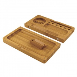 Raw Backflip Bamboo Wooden Rolling Filling Tray