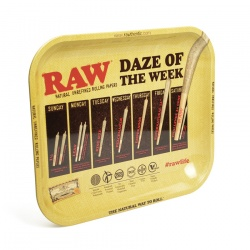 RAW Daze of the Week Large Metal Rolling Tray
