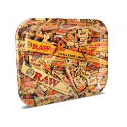 RAW Mix Large Metal Rolling Tray