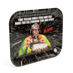 RAW OOPS Large Metal Rolling Tray
