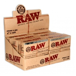 12 RAW 100mm x 4m Parchment Paper Full Box