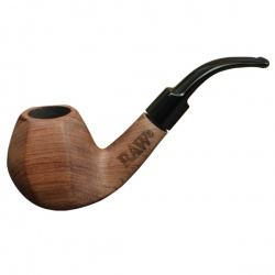 RAW Natural Traditional Wooden Smoking Pipe