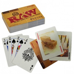 RAW Rolling Papers Playing Cards