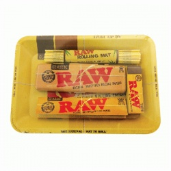 RAW Mini Metal Rolling Tray Set 1