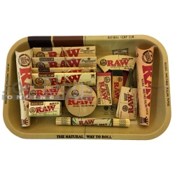 RAW Small Classic & Organic Rolling Tray Gift Set - Choice of tray!