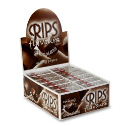 24 Rips Chocolate Flavoured 4m Slim Rolls Full Box