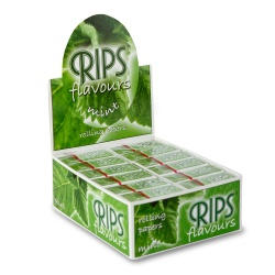 24 Rips Mint Flavoured 4m Slim Rolls Full Box
