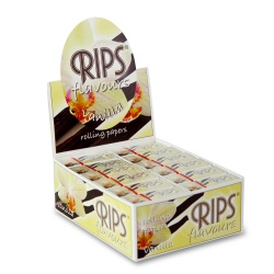 24 Rips Vanilla Flavoured 4m Slim Rolls Full Box
