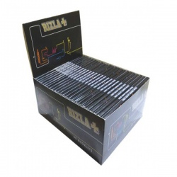 50 Rizla Black King Size Slim Rolling Papers Full Box